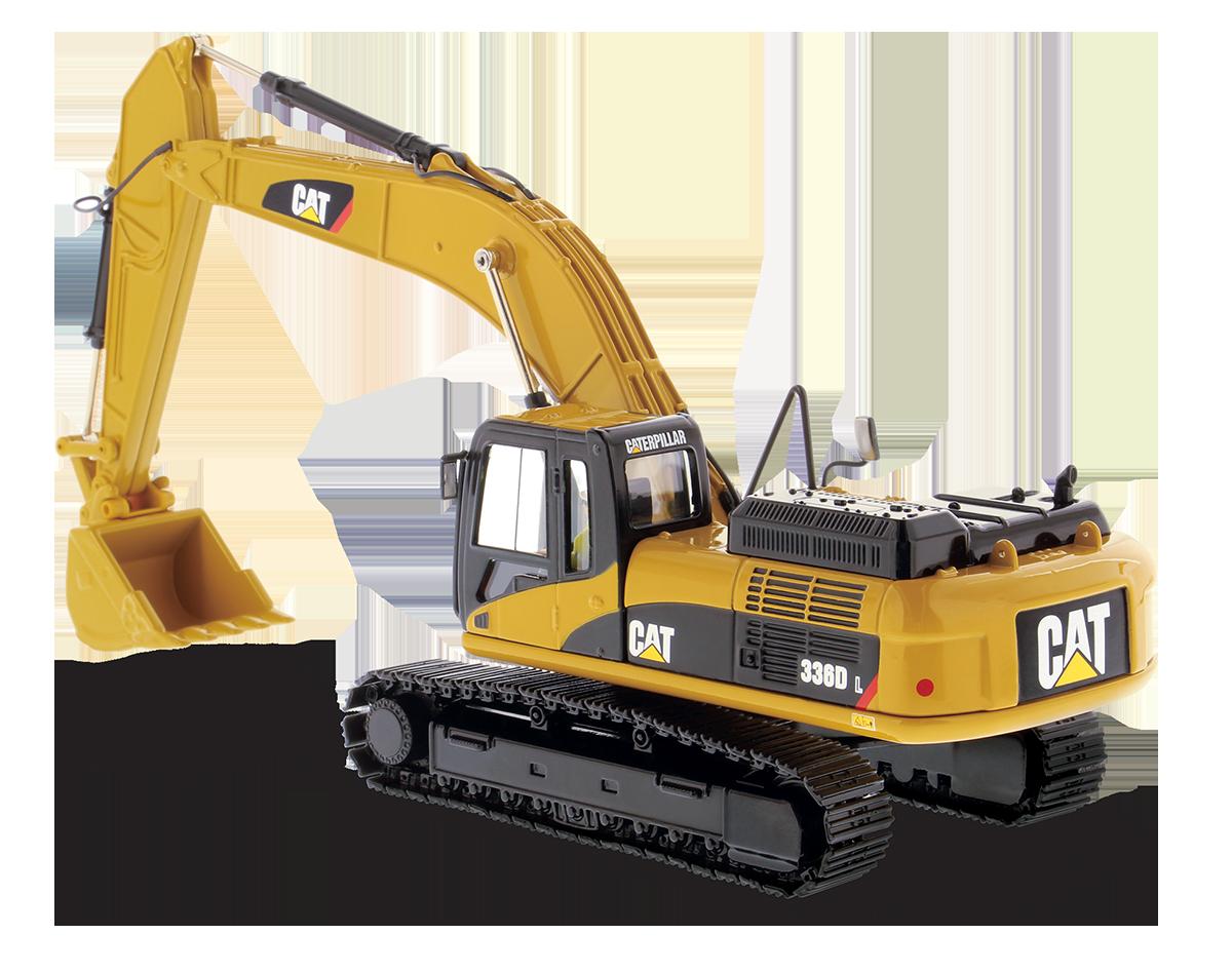 Diecast Masters Cat D L Hydraulic Excavator P