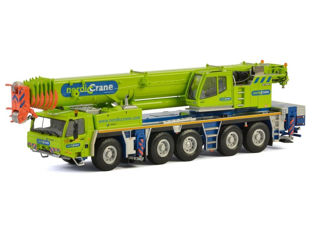 WSI Nordic Crane Tadano ATF 220G-5 mobile Crane